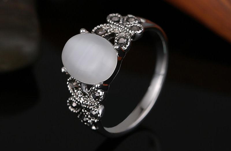 boho opal ring