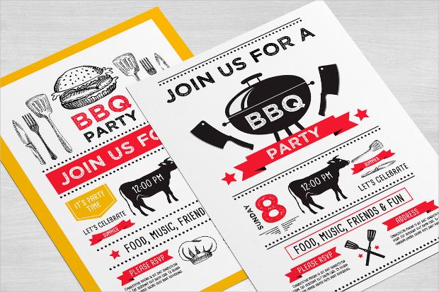 Customizable Invitation Flyer Template
