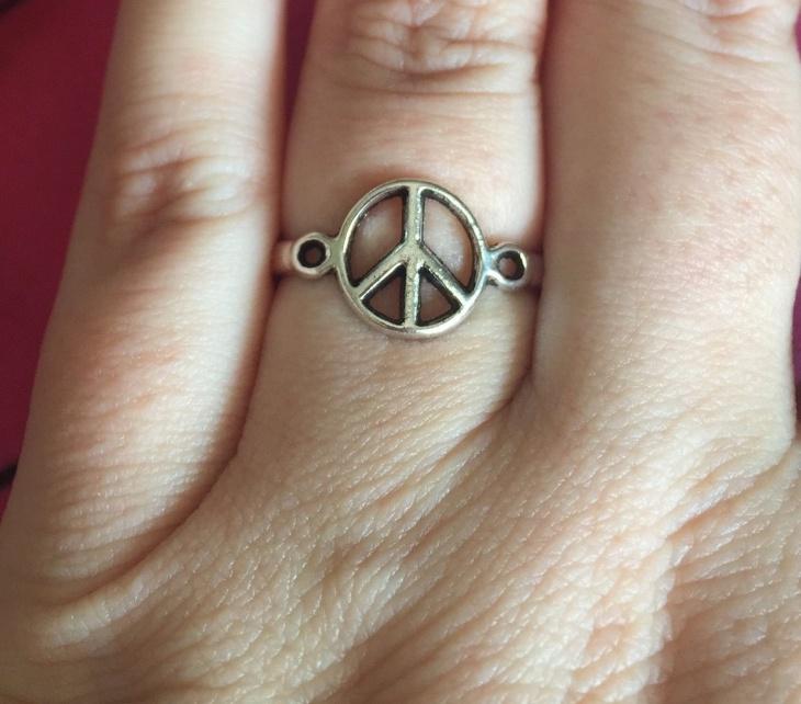 hippy boho ring