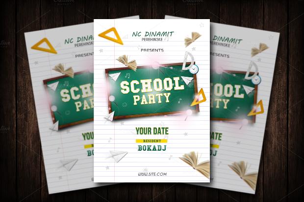 School Event Invitation Flyer