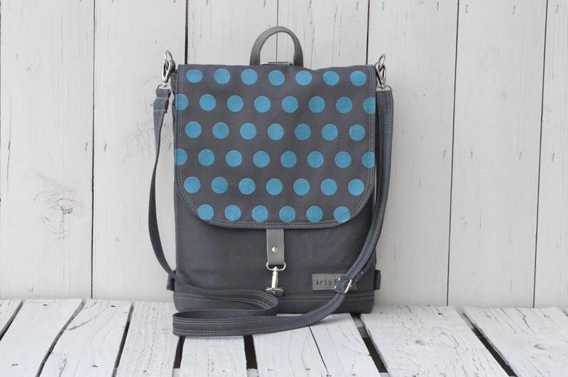 Polka Dots Cycling Backpack