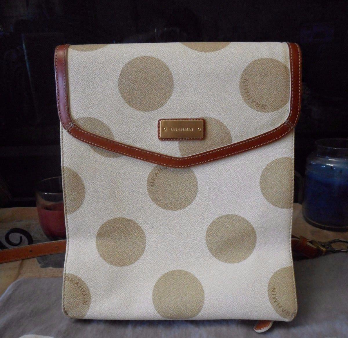 Brahmin Polka Dot Backpack