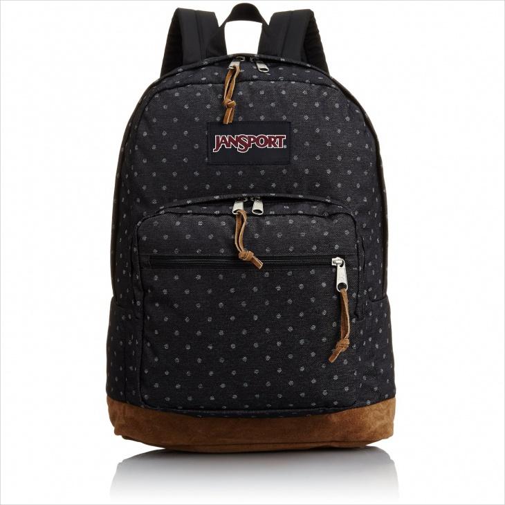polka dot backpack design1