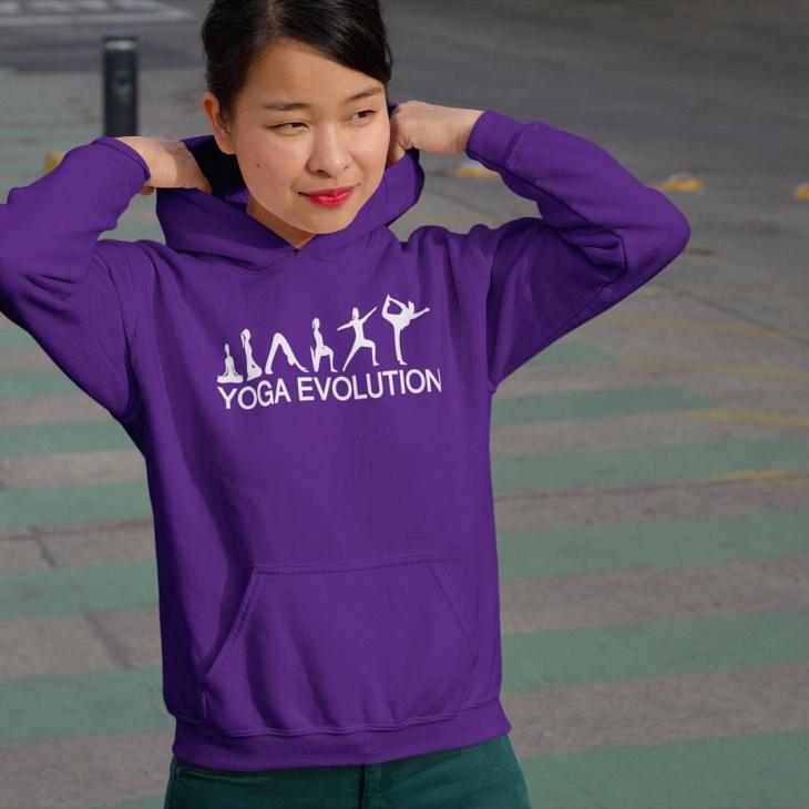 yoga hoodie t shirt