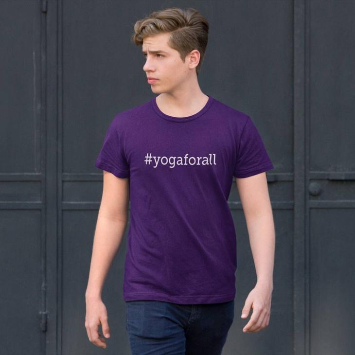 yoga t shirt for men