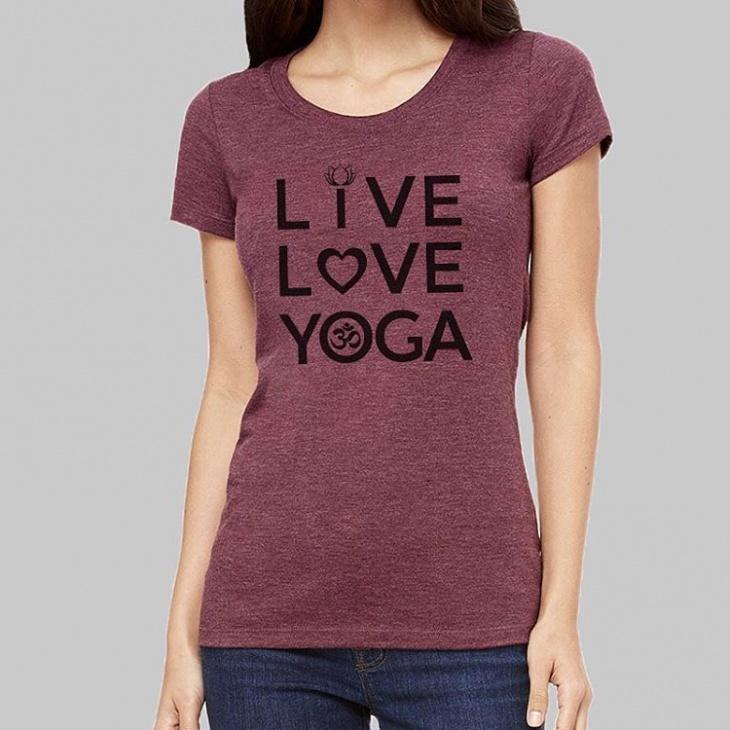 cute yoga tee t shirt