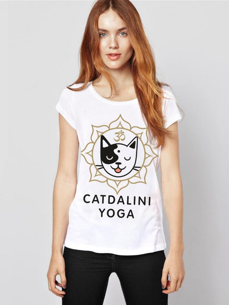 cute yoga t shirt