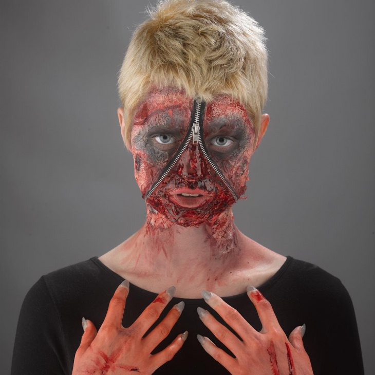 Freaky Makeup Idea for Women