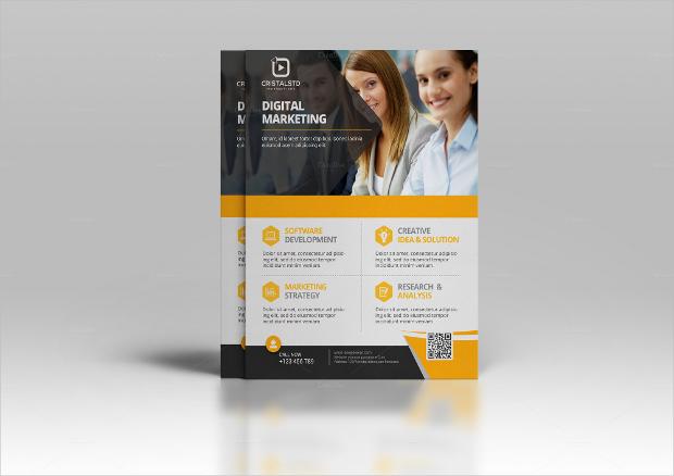 Corporate Marketing Flyer Design