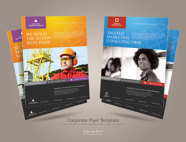 28 Best Corporate Flyer Designs Psd Ai Indesign Word Design