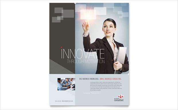 Innovative Corporate Business Flyer