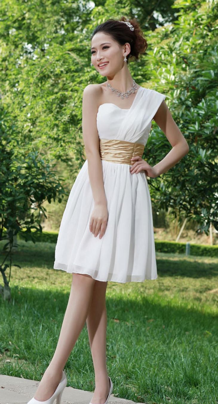 toga wedding dress