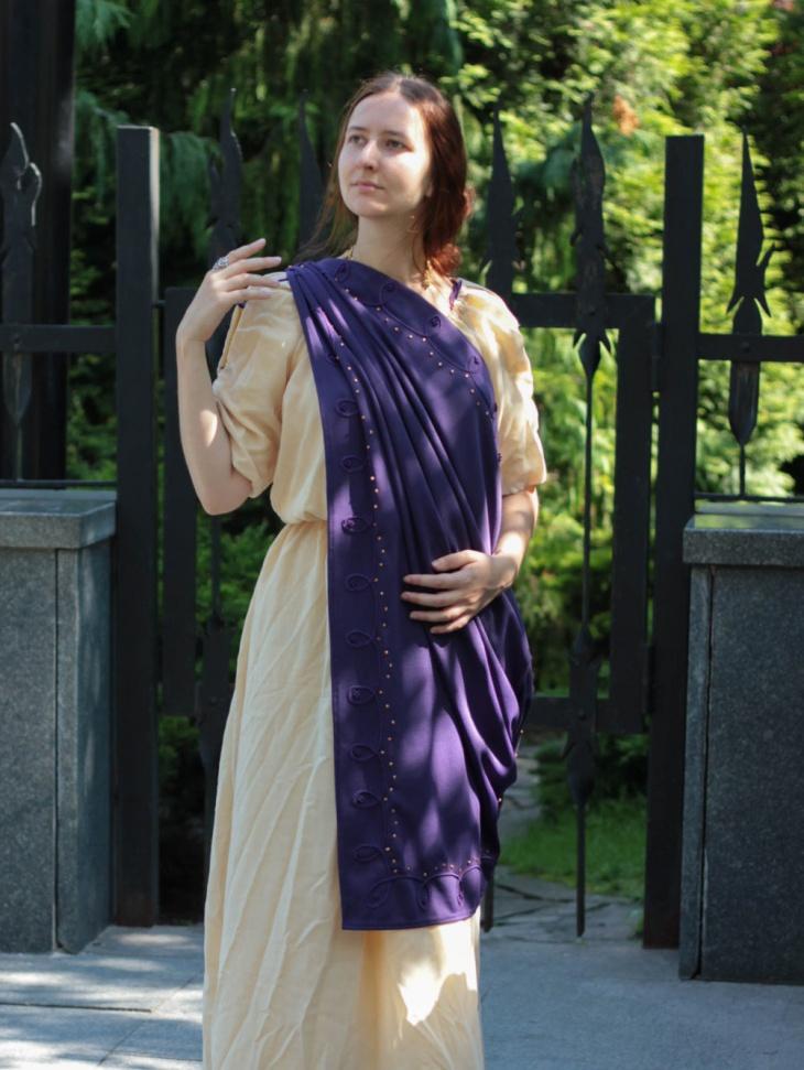 greek toga dress