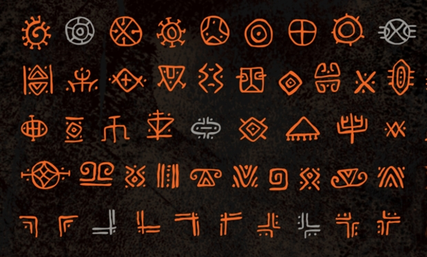 caveman rustic font