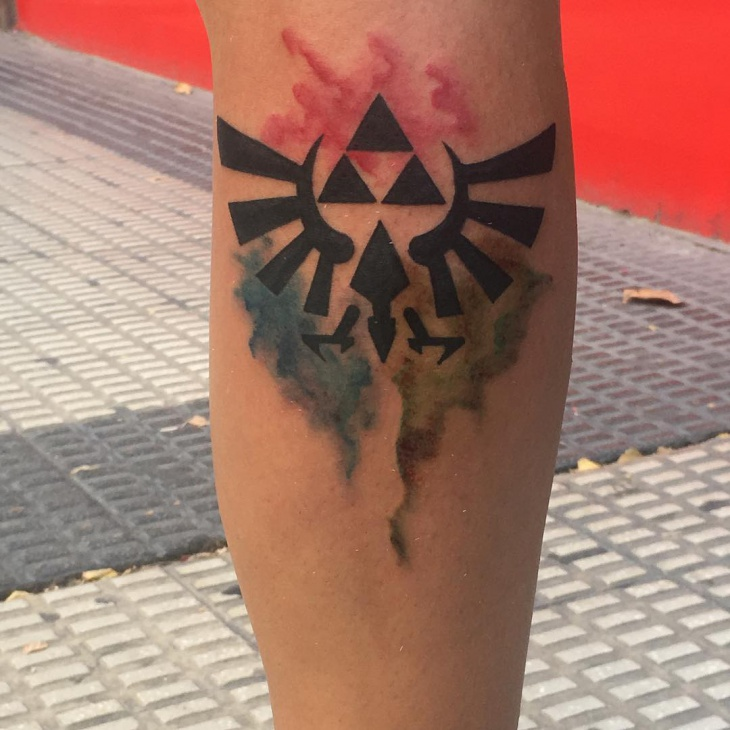 triforce zelda tattoo