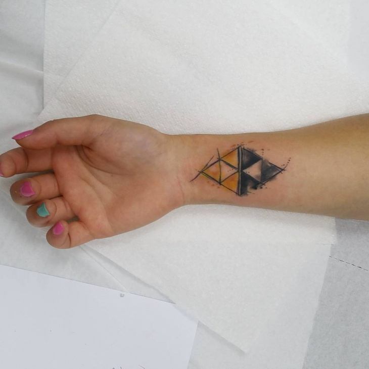 zelda tattoo on wrist
