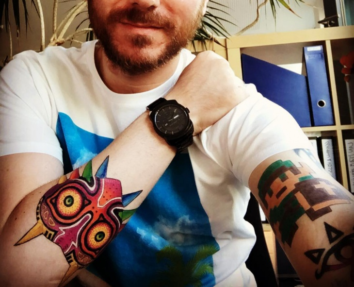 zelda tattoo for men