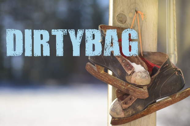dirty bag rustic font