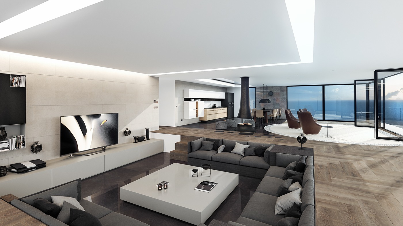 18 modern penthouse designs ideas design trends for Arredamenti di lusso moderni