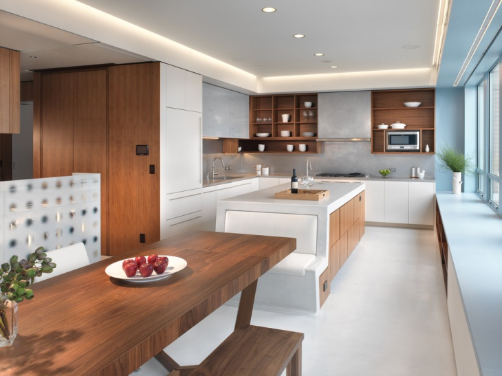 Modern Penthouse Kitchen Idea
