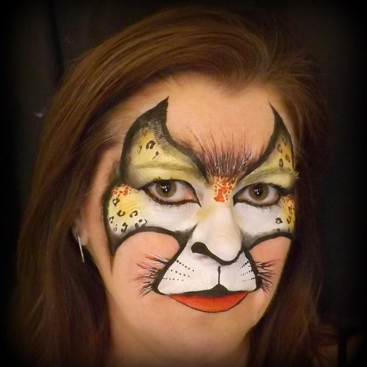 Tiger Goddess Makeup
