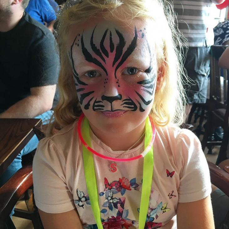 Tiger Makeup For Kids
