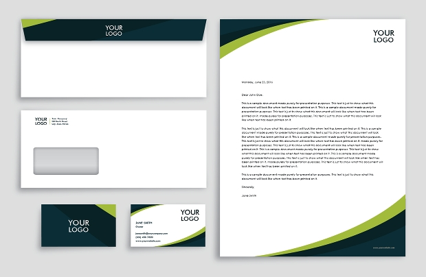 creative business envelope design