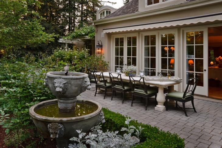 Modern Outdoor Fountain