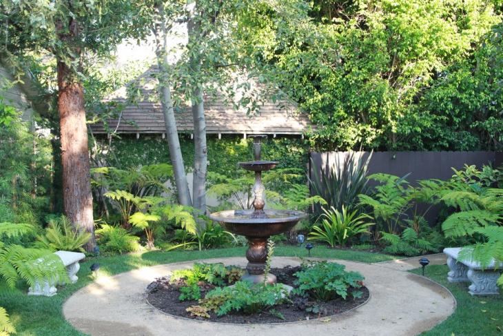 Outdoor Fountain Design