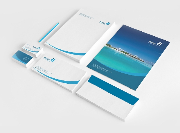 travel company envelope design
