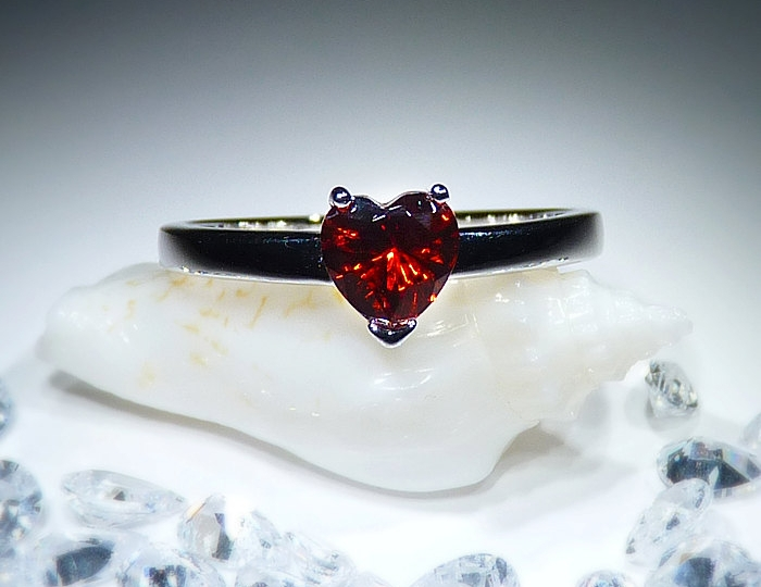 handmade ruby ring
