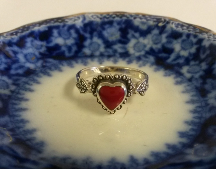 estate sterling silver ring