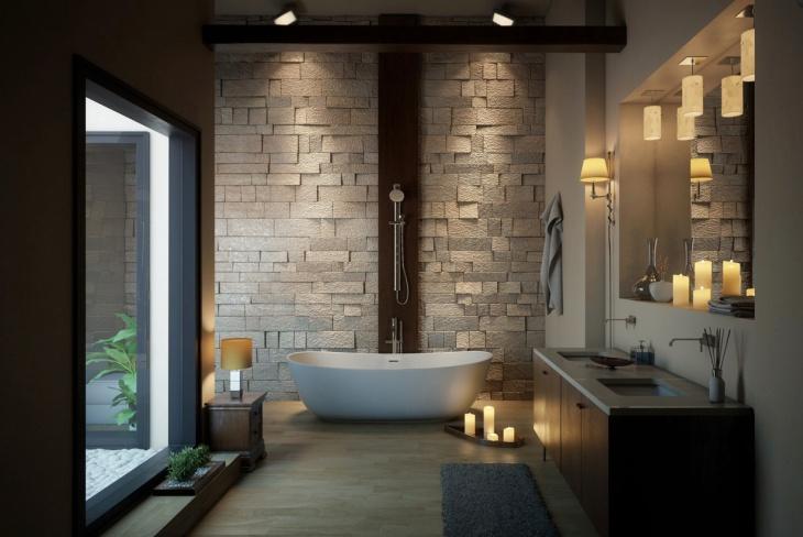 classic penthouse bathroom design
