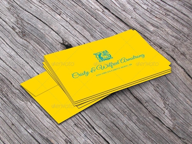 invitation card envelope design