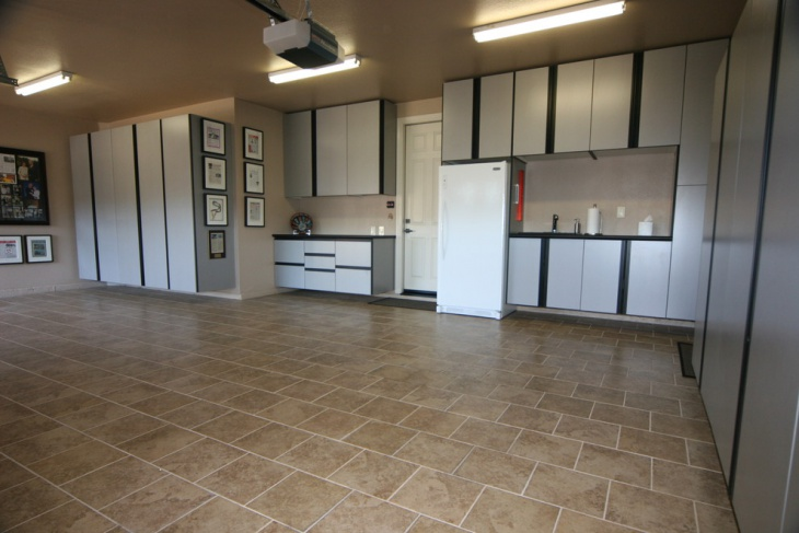 Garage Floor Tiles Design