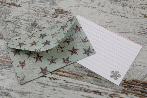 handmade envelope letter design