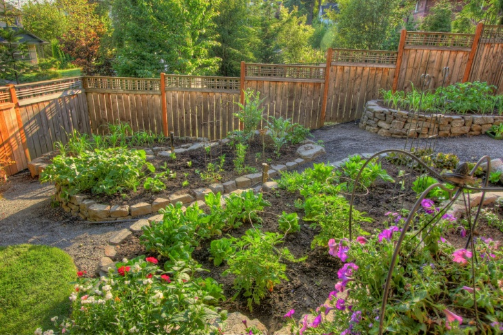 Raised Bed Garden Fence Design