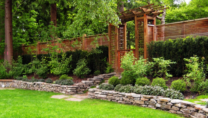 18 garden fence designs ideas design trends premium for Asian landscape design