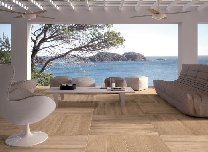 wood tile flooring design