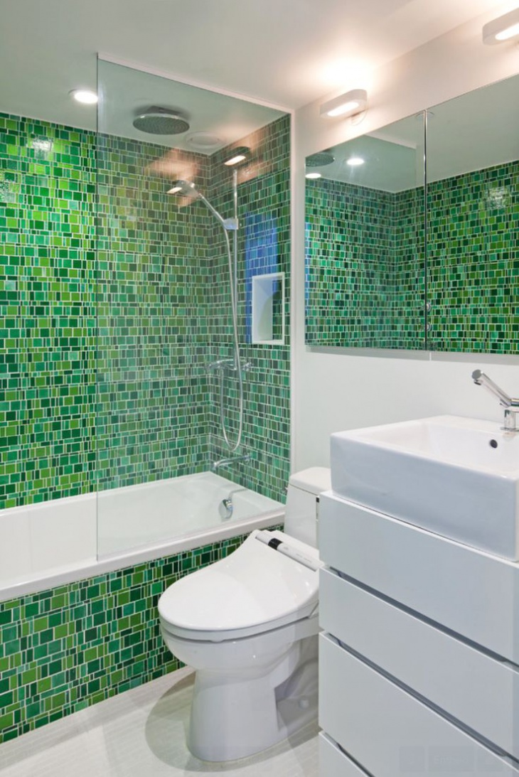 Mosaic Glass Tiles Designs