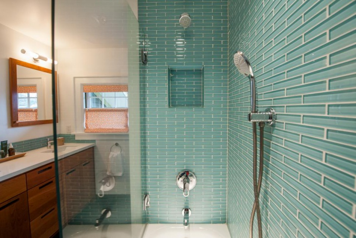Glass Tile Shower Design