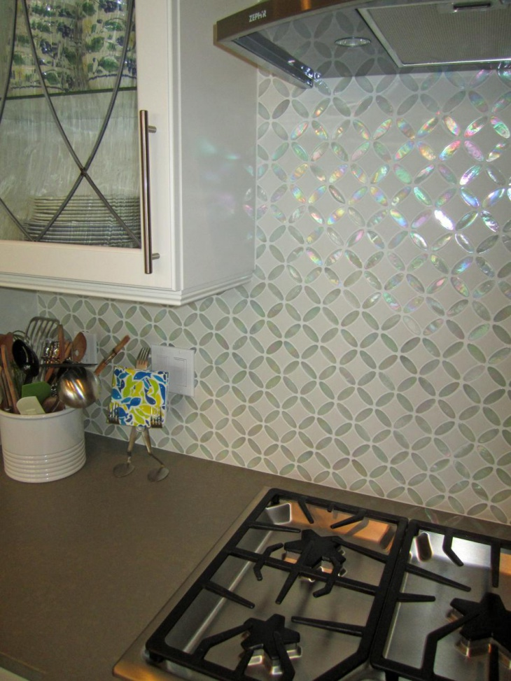 Glass Tile Backsplash Design