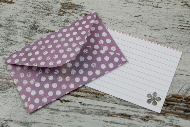 creative handmade envelope design