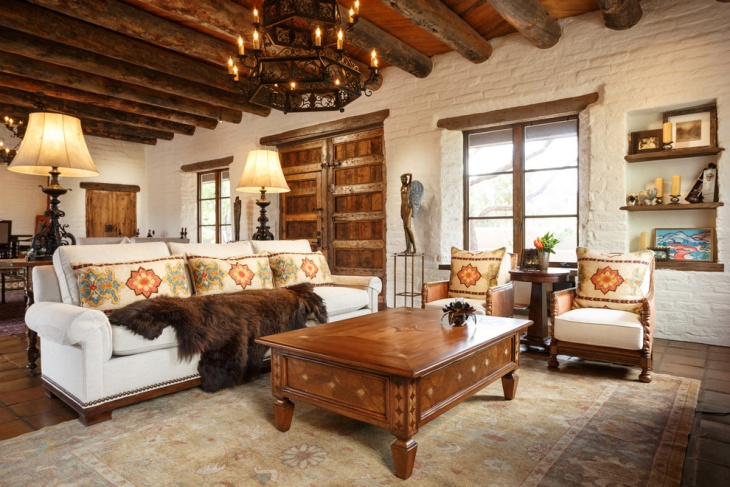rustic country style interior
