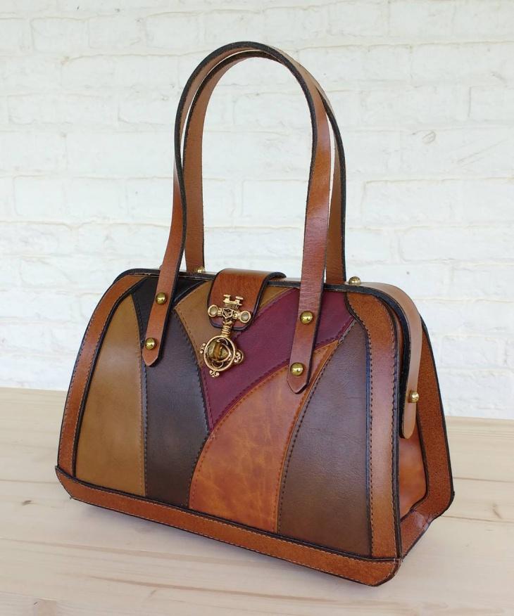 vintage designer leather handbag