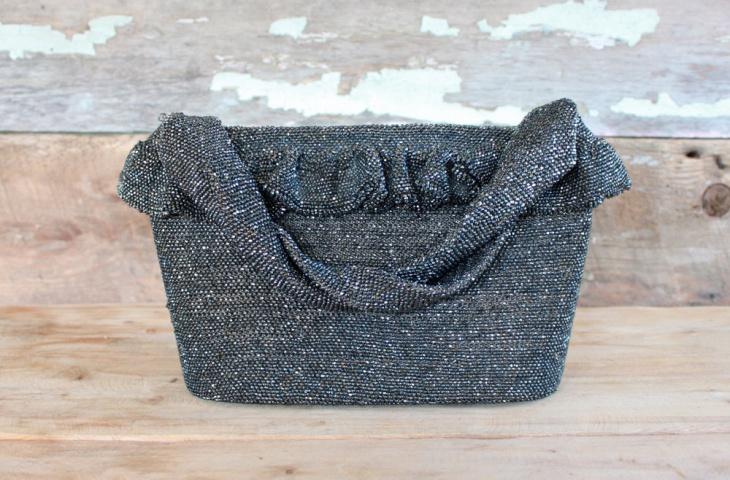 vintage beaded handbag design