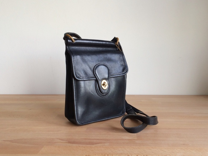 black designer crossbody handbag
