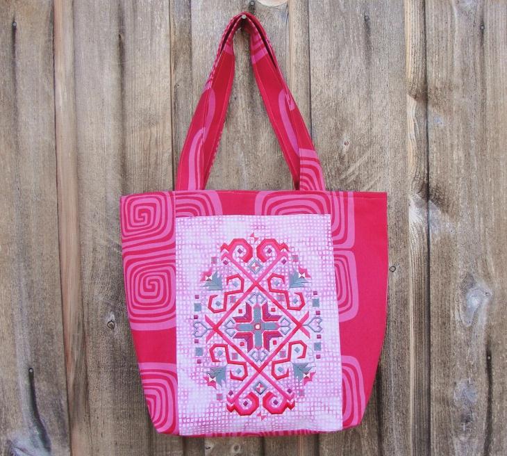 handmade embroidered handbag design