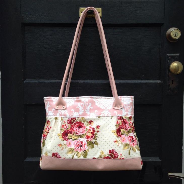 floral print handbag design