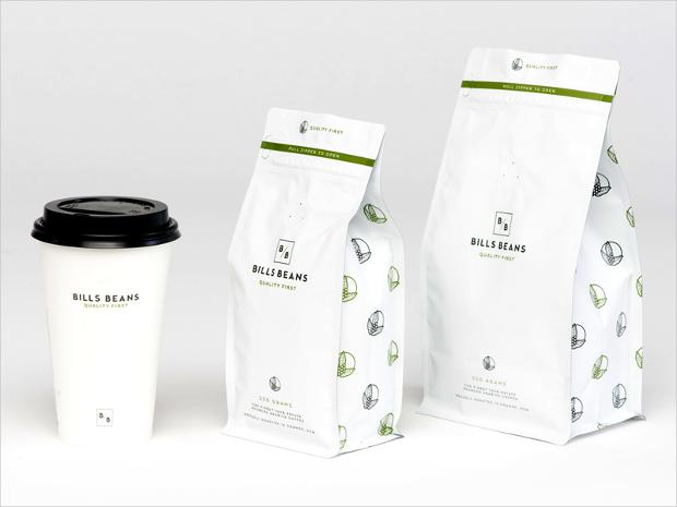 coffee bean packaging design
